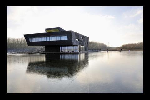 Drost + van Veen's education centre at Oostvaarderplassen